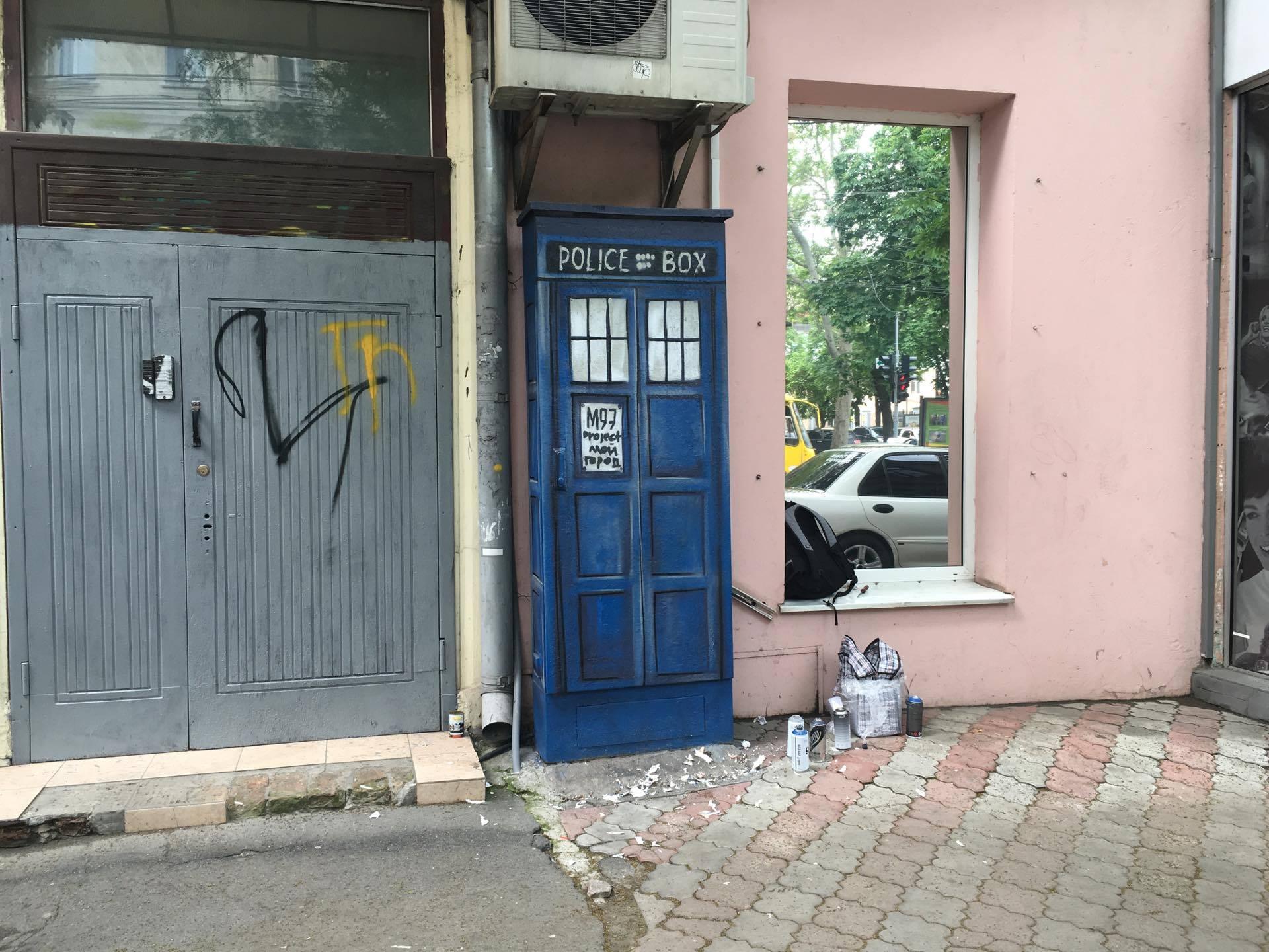 13334728_1201164569907526_1850499689_o В центре Одессы появился космический корабль
