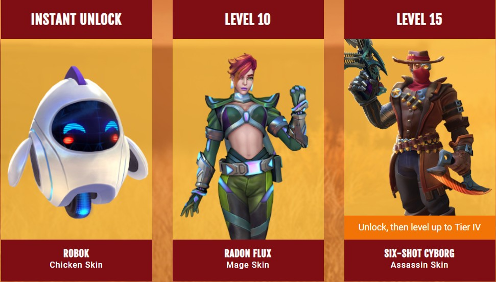 Realm Royale Season 3 - Skins